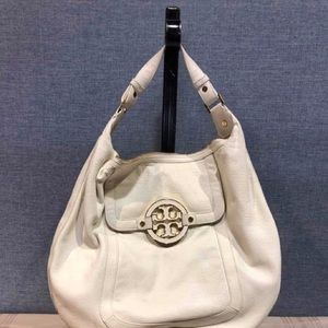 Tory Burch ivory satchel